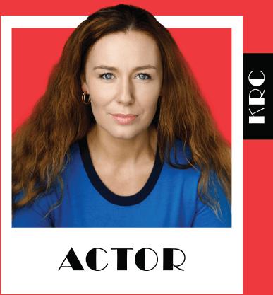 Katie Reddin Clancy British Voiceover Artist Actor Header Image