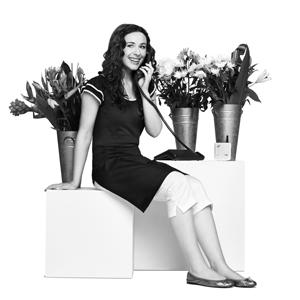 Katie Reddin Clancy British Voiceover Artist Vipnet Florist