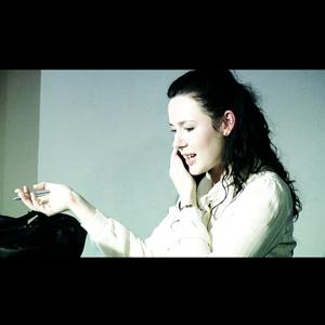 Katie Reddin Clancy British Voiceover Artist Woodcut
