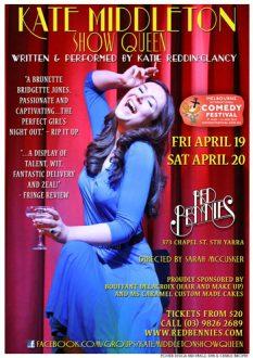 Katie Reddin Clancy British Voiceover Artist Theatre Poster