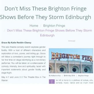 Katie Reddin Clancy British Voiceover Artist Brighton Fringe