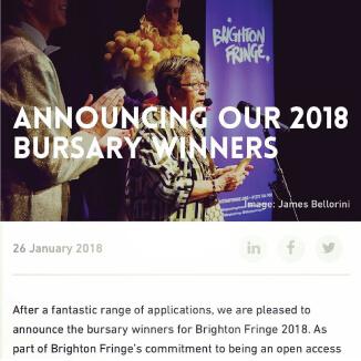 Katie Reddin Clancy British Voiceover Artist Bursary Winner