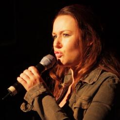 Katie Reddin Clancy British Voiceover Artist Comedian Grace12