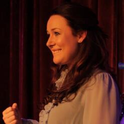 Katie Reddin Clancy British Voiceover Artist Comedian Grace9