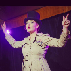 Katie Reddin Clancy British Voiceover Artist Comedian Shows7