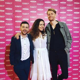 Katie Reddin Clancy British Voiceover Artist Funny Party
