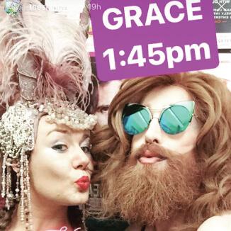 Katie Reddin Clancy British Voiceover Artist Grace Tuxedo