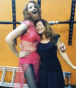 Katie Reddin Clancy British Voiceover Artist Grace Show Ride 04