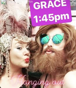 Katie Reddin Clancy British Voiceover Artist Grace Show Ride 10
