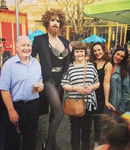 Katie Reddin Clancy British Voiceover Artist Grace Show Ride 12