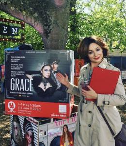 Katie Reddin Clancy British Voiceover Artist Grace Show Ride 14