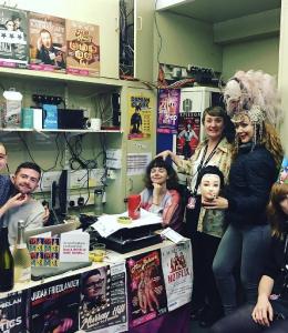 Katie Reddin Clancy British Voiceover Artist Grace Show Ride 17