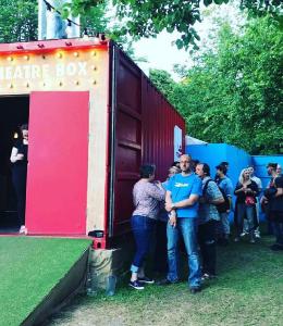 Katie Reddin Clancy British Voiceover Artist Grace Show Ride 25