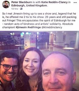 Katie Reddin Clancy British Voiceover Artist Grace Show Ride 34