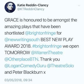 Katie Reddin Clancy British Voiceover Artist Nomination