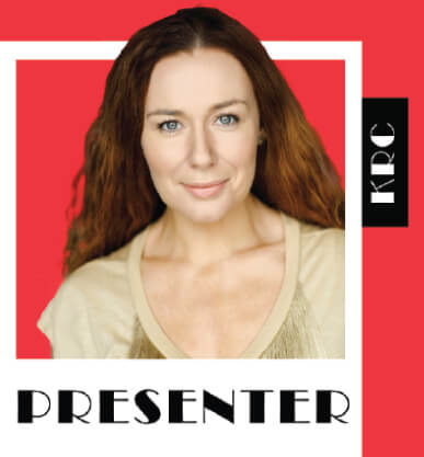 Katie Reddin Clancy British Voiceover Artist Presenter Logo