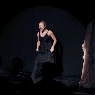 Katie Reddin Clancy British Voiceover Artist Shows Grace13