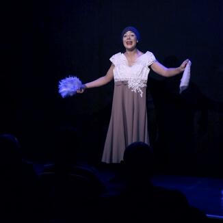 Katie Reddin Clancy British Voiceover Artist Shows Grace5