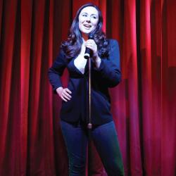 Katie Reddin Clancy British Voiceover Artist Stand up image4