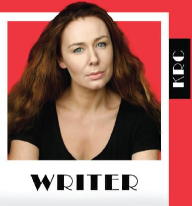 Katie Reddin Clancy British Voiceover Artist Writer Logo